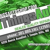 All Things Auto – Temple Hills