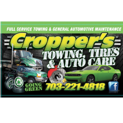 Cropper's I Towing & Tires Inc
