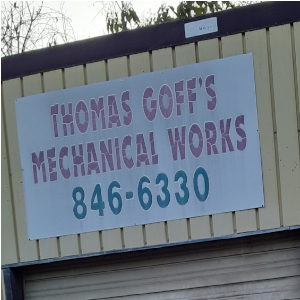 Thomas Goff's Mechanical Works
