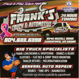 Frank's Truck and Automotive Repair