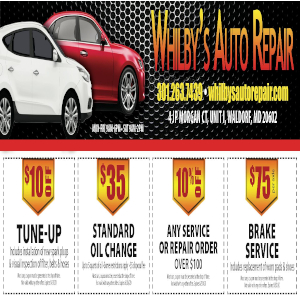 Whilby's Auto Repair & Tires